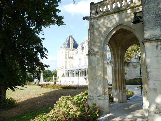 Chateau de Mirambeau: la chapelle