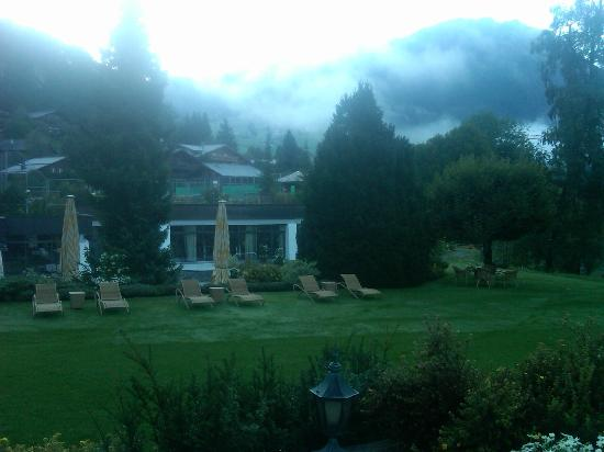 Gstaad Palace Hotel: View from side terrace