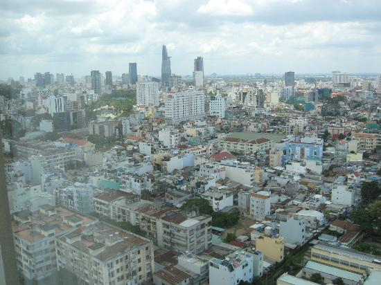 Hotel Nikko Saigon: My view from the room