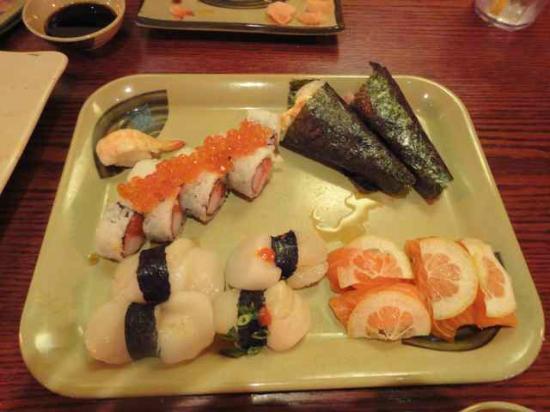 Sushi Pier Tahoe: best scallops I've ever tasted