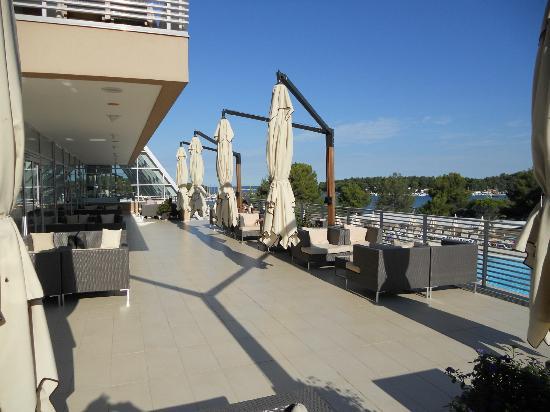 Laguna Molindrio Hotel: Lounge terrace