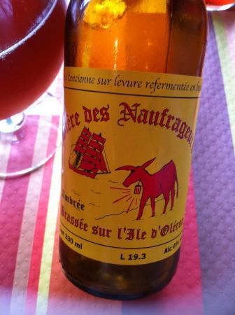 Les poissons rouges : Biere des Naufragés ..a ramener absolument !
