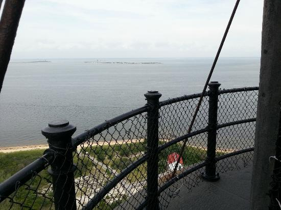Fire Island Lighthouse: From the top