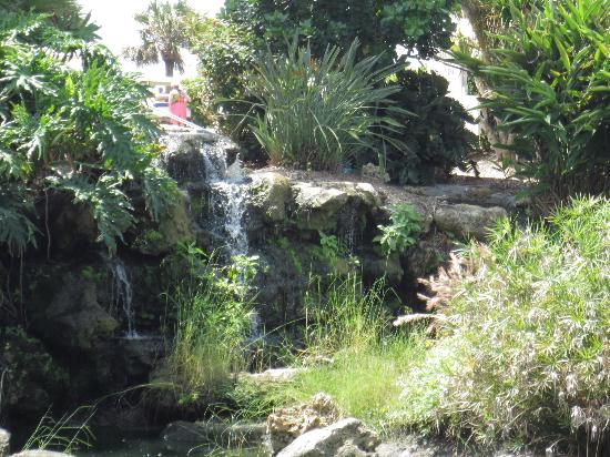 Sanibel Cottages Resort: Waterfall