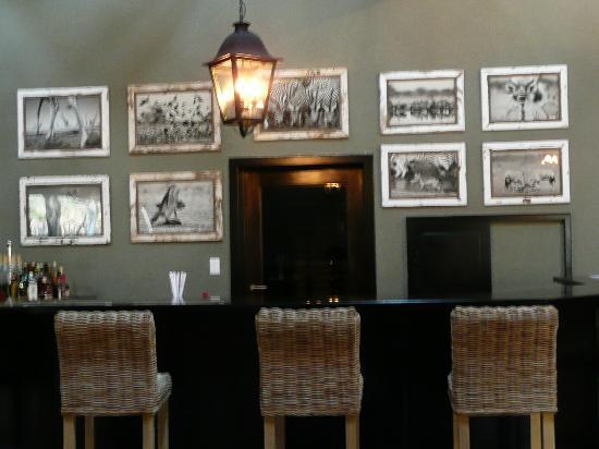 Mushara Lodge: détails du bar