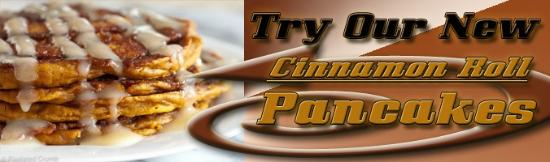 4 Aces Diner : Try our Cinnamon Roll Pancakes...