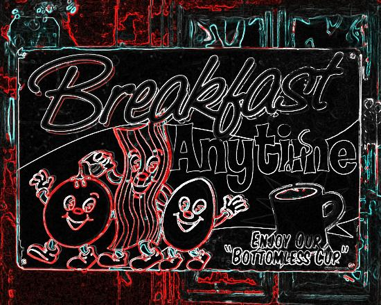 4 Aces Diner : Breakfast Any time!!