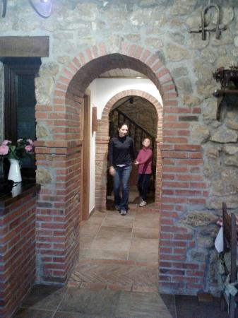 Posada Herran: Going for breakfast!!