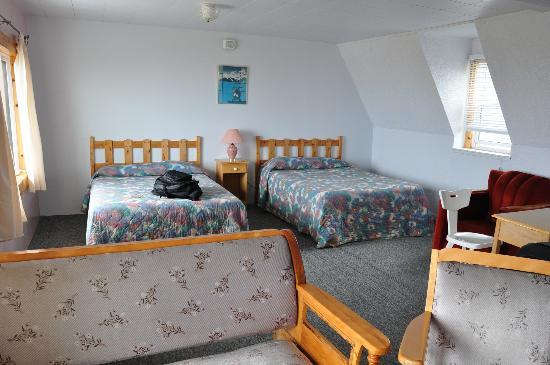 Auberge de L'Anse : Chambre à 2 lits