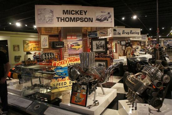 ‪‪Museum of American Speed‬: Mickey Thompson Exhibit at Museum of American Speed