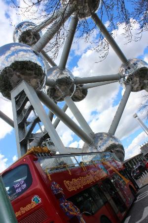 City Sightseeing Brussels: Atomium