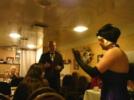 "Seminole Gulf Railway Murder Mystery Dinner Train : Cortland Brookins, PhD and Miss Josephine ""Josey"" Hunter"