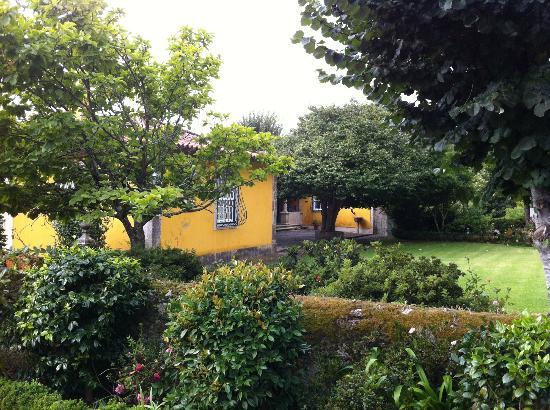 Quinta da Bouca d'Arques: Casa principal e jardins