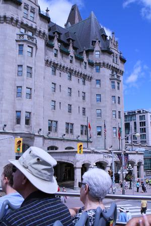 Fairmont Chateau Laurier: another view of hotel