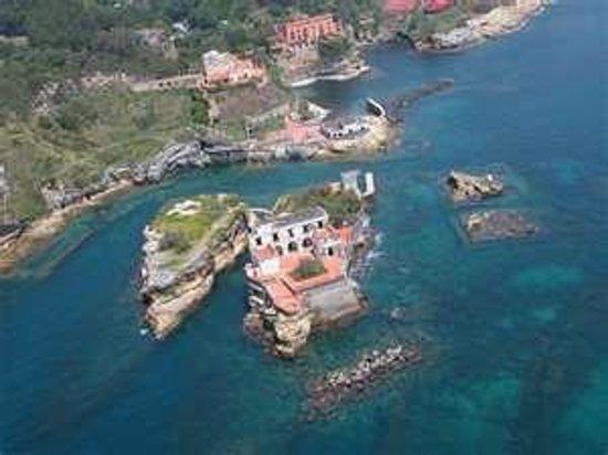 Parco Sommerso di Gaiola Area Marina Protetta : Discesa Gaiola, Napoli, Italia
