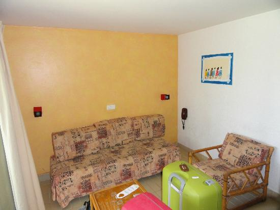 Savana Saly Hotel : duplex-room downstairs