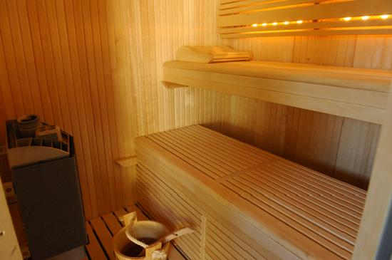 Lueur des iles: sauna