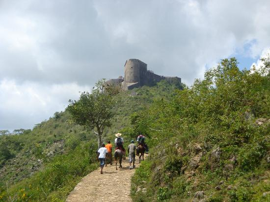 Nord Department, Haïti : The approach to The Citadel
