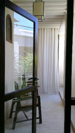 Villa Makassar: View to our balcony