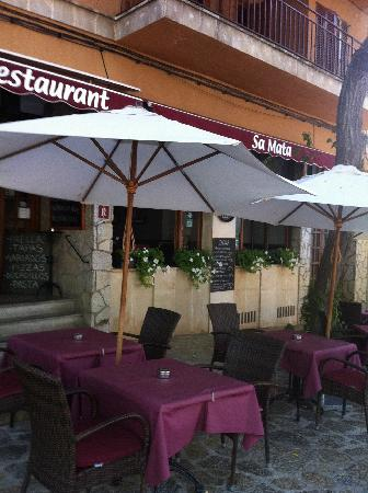 Restaurant Sa Mata: FACHADA RESTAURANTE