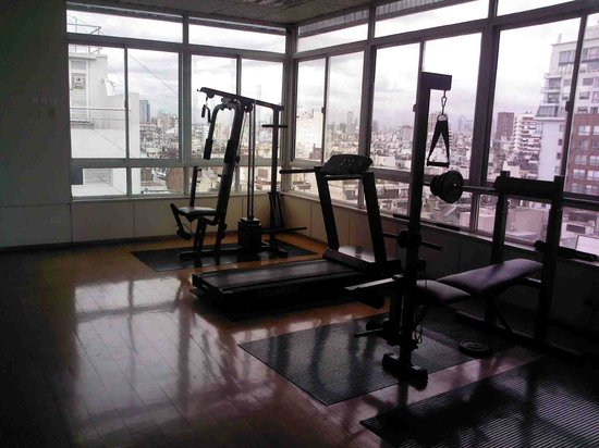 Wilton Hotel: Fitness room - workout equipment