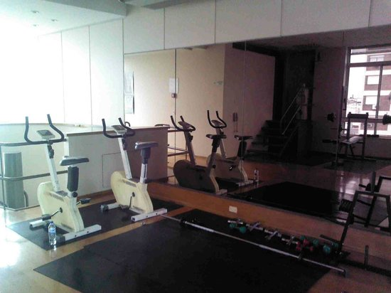 Wilton Hotel: Fitness room - old exercise bikes