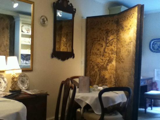 Taylors: Inside the tearoom