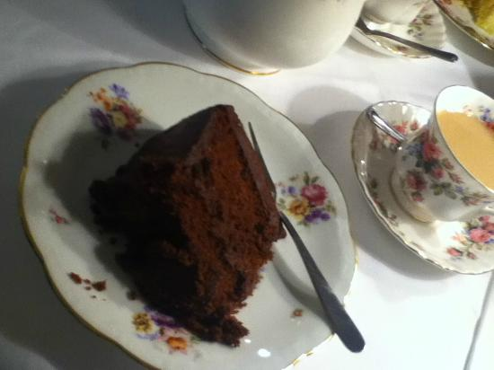 Taylors: Chocolate cake