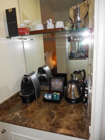 Conrad Dublin: Coffee/Tea service