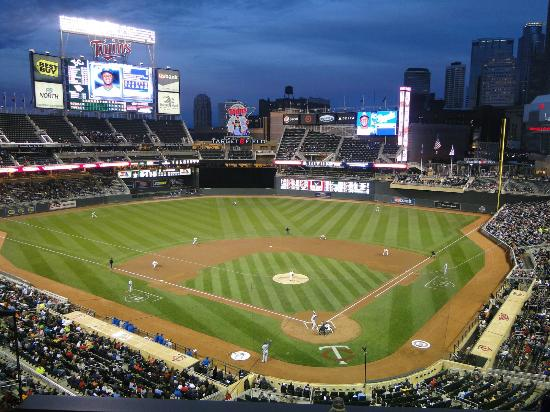 Target Field - Minneapolis. This photo was made from the Twins Suite 32.
