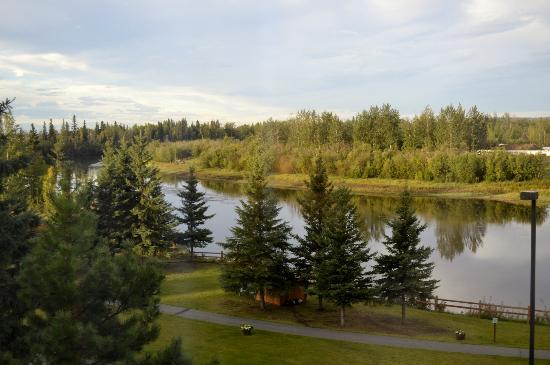 Fairbanks Princess Riverside Lodge: View from room!