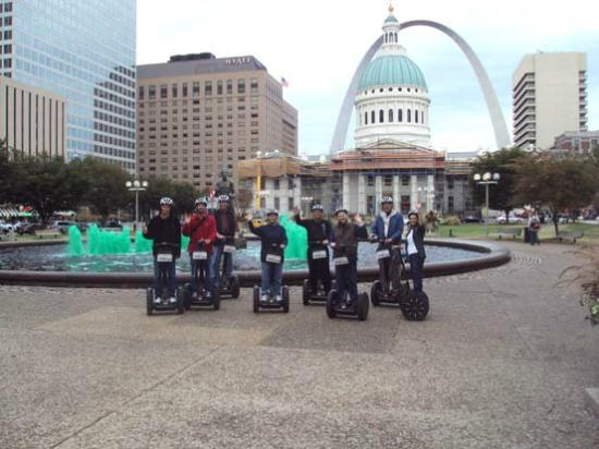 Glide St Louis Segway Tours: Segway City Tour