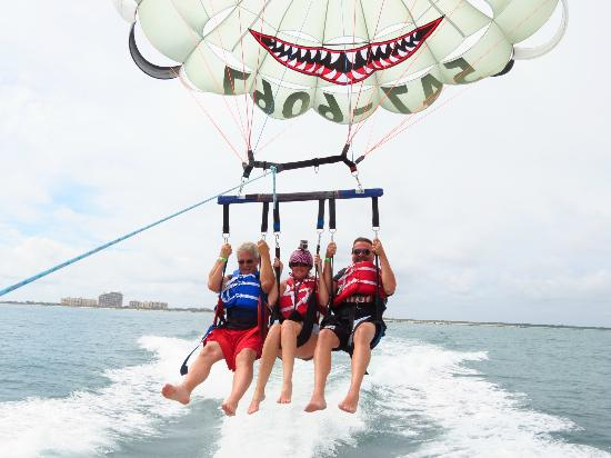 Here We Go Picture Of Daytona Beach Parasail Ponce Inlet
