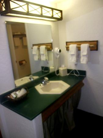 The Lodge at Big Bear Lake, a Holiday Inn Resort: Single sink