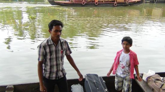 Resort boat service