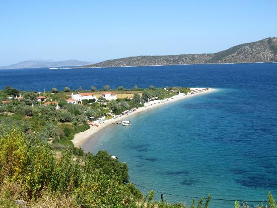 Yalis Hotel: Agios Dimitrios beach