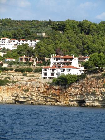 Yalis Hotel: Yalis from the sea