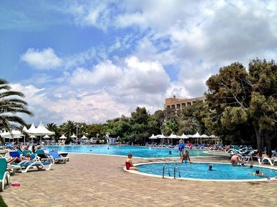 Turquoise Resort Hotel & Spa: у главного бассена работает отличная команда аниматоров