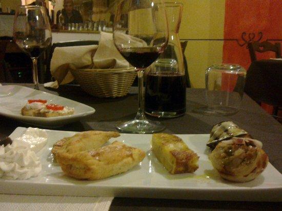 Orto di Virgilio: Antipasto della taverna...