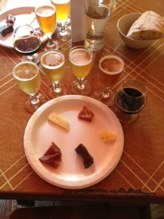 The New York Beer and Brewery Tour: Beer pairings at Spuyten Duyvil