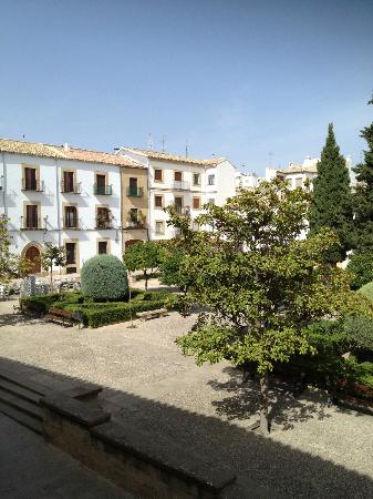 Hotel Maria de Molina: View from room 101