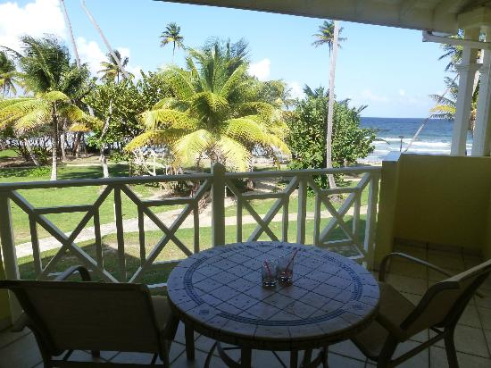 Magdalena Grand Beach & Golf Resort: Balcony View to Atlantic Ocean