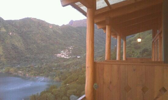 Lomas de Tzununa: from the balcony
