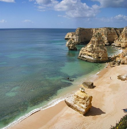 Carvoeiro, Portugal: Praia da Marinha