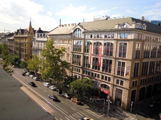 Radisson Blu Beke Hotel, Budapest: panorama dalla stanza