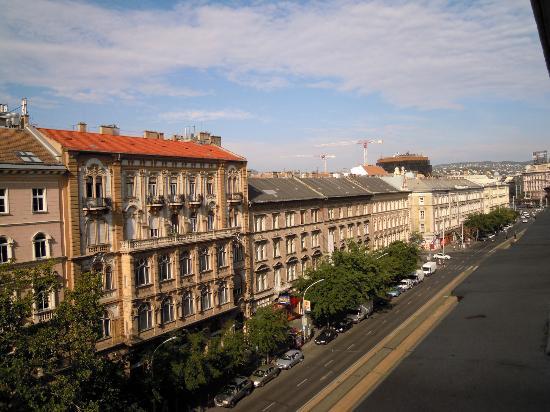 Radisson Blu Beke Hotel, Budapest: altro panorama dalla stanza