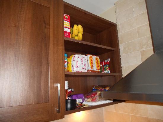 PREMIER SUITES PLUS, Dublin Lesson Street: Little pantry