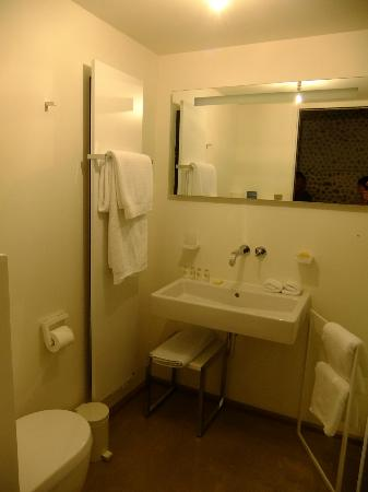 Hidden Bay Hotel: Bathroom with walk-in shower