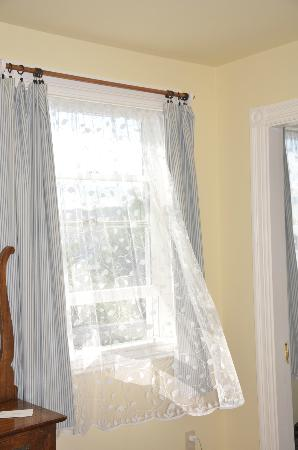 The Monhegan House: Gentle island breezes through your window for your afternoon nap...