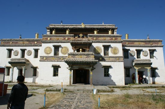 Kharkhorin, Монголия: The Monastery of Erdene Zuu